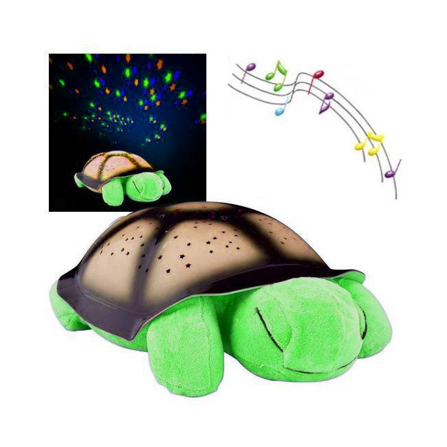 Ночник Черепаха (цвет салатовый)