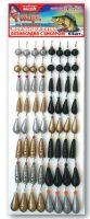 Набор мормышек для зимней рыбалки Пирс №2-Л 64 шт