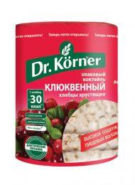 Хлебцы Dr.Korner Злаковый коктейль Клюквенный 100г