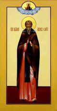 Икона Иаков Омучский преподобный