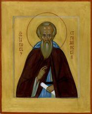 Икона Иаков Стромынский преподобный