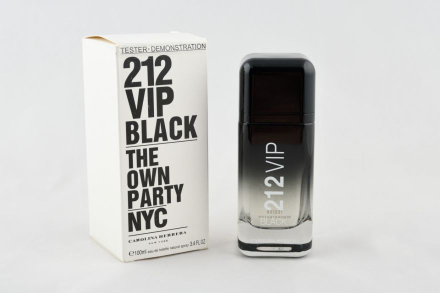 Тестер Carolina Herrera 212 Vip Black The Own Party Nyc 100 мл