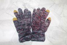 Вязаные шерстяные женские и подростковые сенсорные перчатки СР