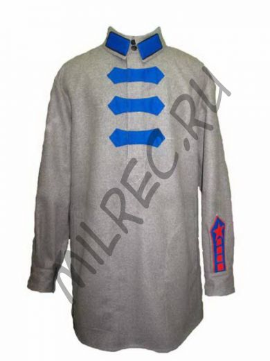 Гимнастерка (рубаха) суконная  обр. 1922 г. (реплика) под заказ