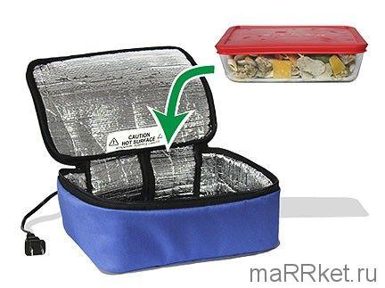 Термосумка для подогрева еды Personal Portable Oven (синий)