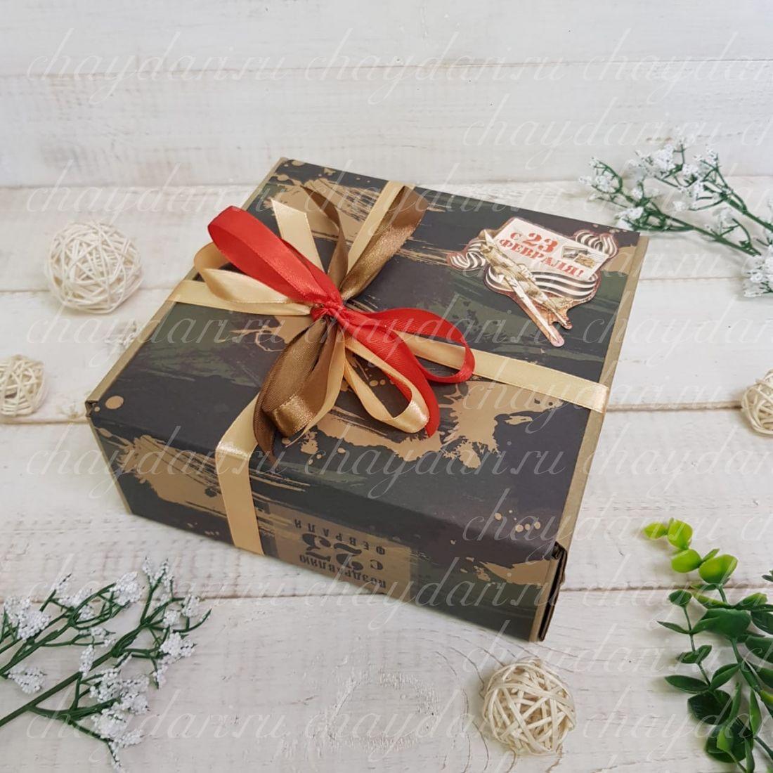 """Коробка с чаем """"Армейские истории"""""""