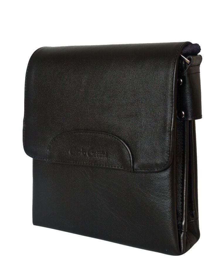 Кожаная мужская сумка Carlo Gattini Moretta black