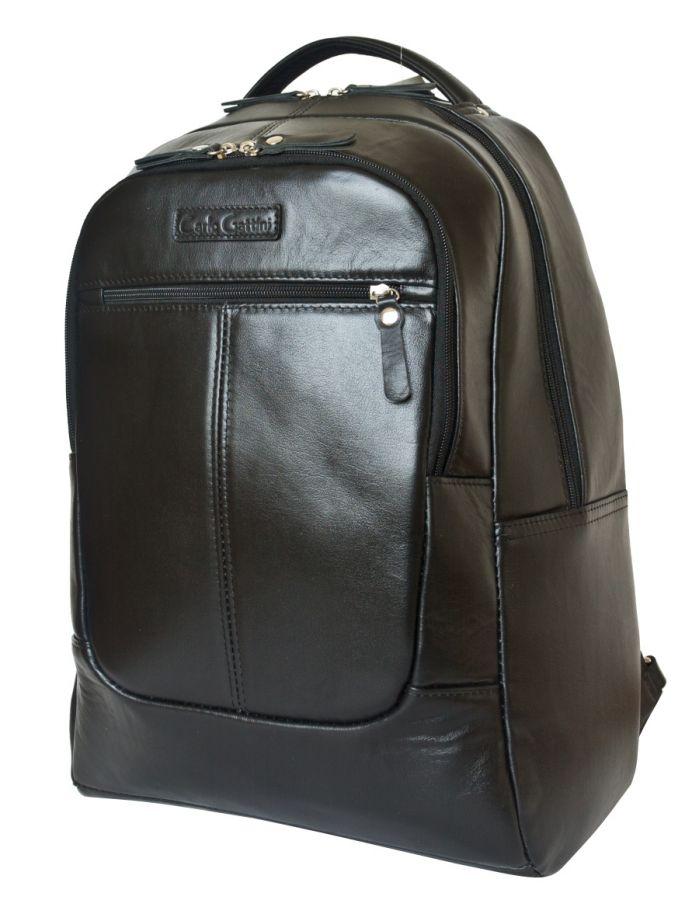 Кожаный рюкзак Carlo Gattini Coltaro black