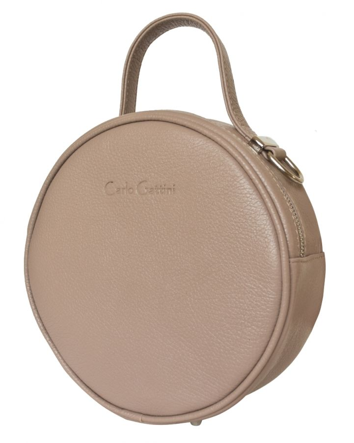Кожаная женская сумка Carlo Gattini Avio biege