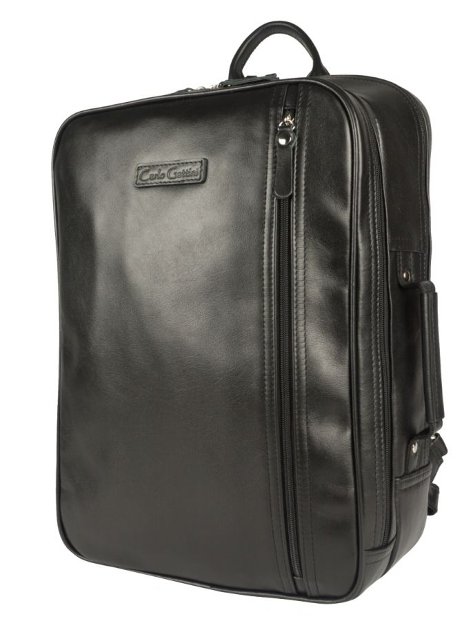 Кожаный рюкзак Carlo Gattini Vivaro black