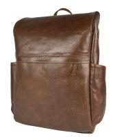 Кожаный рюкзак Carlo Gattini Tornato brown