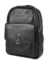 Женский кожаный рюкзак Carlo Gattini Annicco black