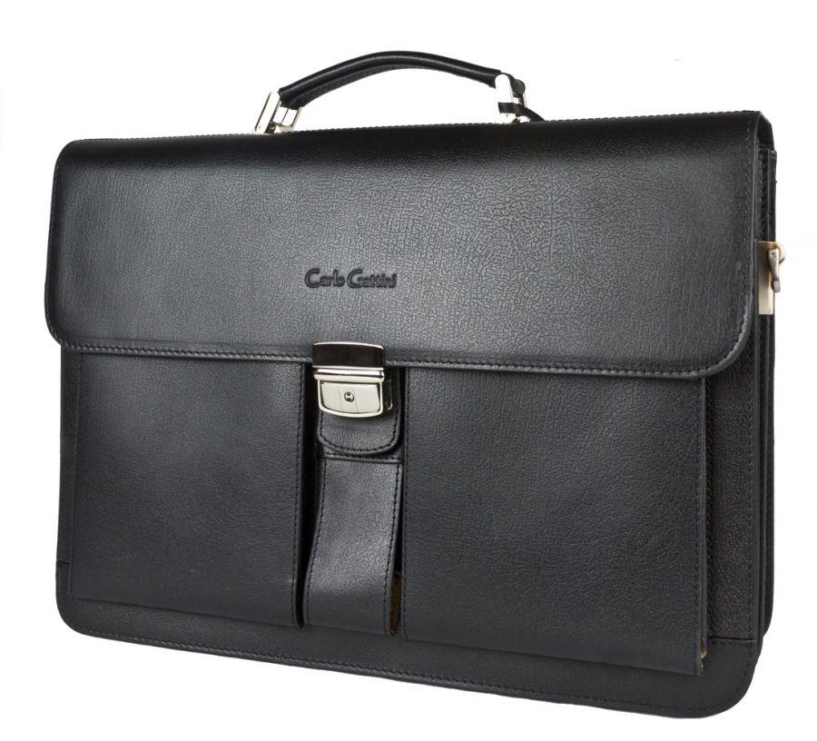Кожаный портфель Carlo Gattini Bulciano black