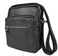 Кожаная мужская сумка Carlo Gattini Luviera black