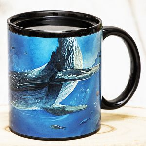 Кружка хамелеон Океан