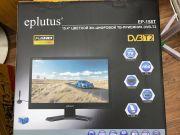 """EP-158T DVB T2 Телевизор с цифровым тюнером """"15.4"""""""