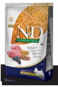 N&D Low Grain LAMB & BLUEBERRY Adult Mini (ягненок+черника для взрослых собак мелких пород)