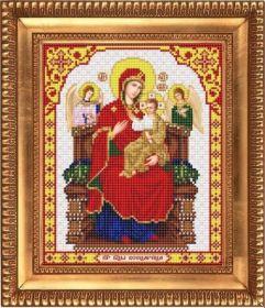 Благовест И-4061 Пресвятая Богородица Всецарица схема для вышивки бисером купить оптом в магазине Золотая Игла