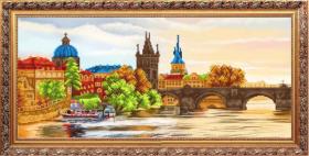 К-3555 Благовест. Прага. А3+ (набор 1475 рублей)
