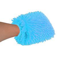 Тряпка-Рукавица Из Микрофибры Super Mitt (цвет голубой)