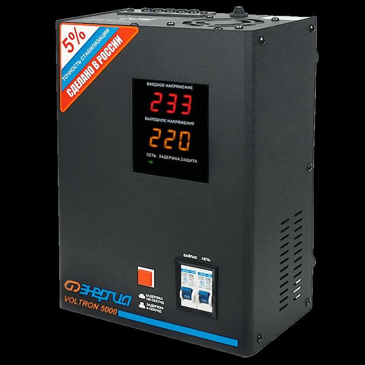 Стабилизатор  Энергия Voltron-5000 (5%)