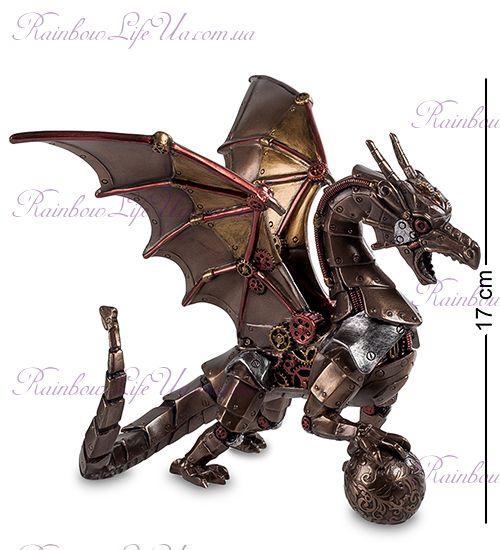 "Статуэтка в стиле Стимпанк дракон с шаром ""Veronesе"""