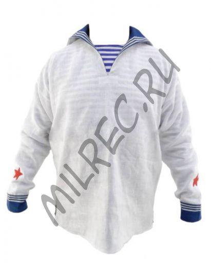 Рубаха форменная для рядового и младшего начсостава РККФ,  реплика  (под заказ)