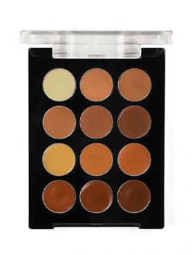 Make-Up Atelier Paris Palette 12 Anti-Cernes P12C/COR Корректор-антисерн восковой универсальная палитра на 12 цветов