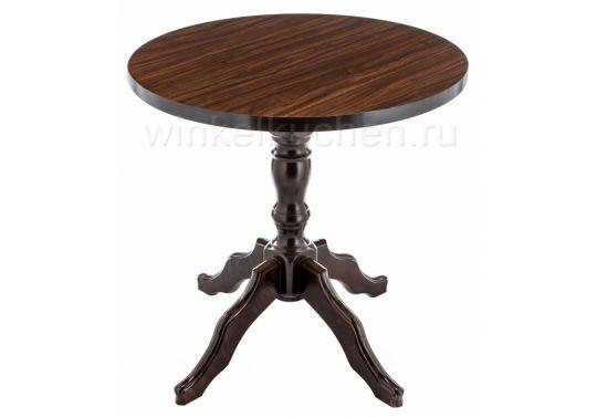 Стол деревянный Вилмар темное дерево