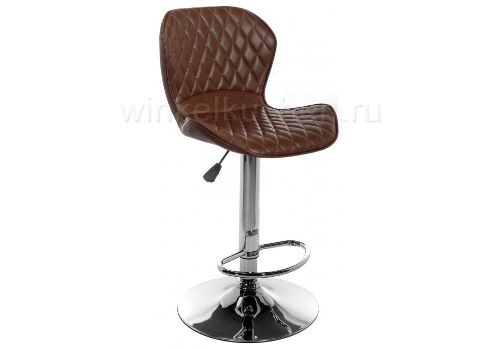 Барный стул Shanon CColl T-1002 brown leather