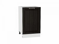 Шкаф нижний с одной дверцей Прага Н500 в цвете Венге премиум
