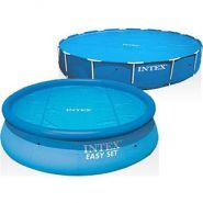Солнечное покрывало Intex 29024 для бассейнов Easy Set и Metal Frame 488 см