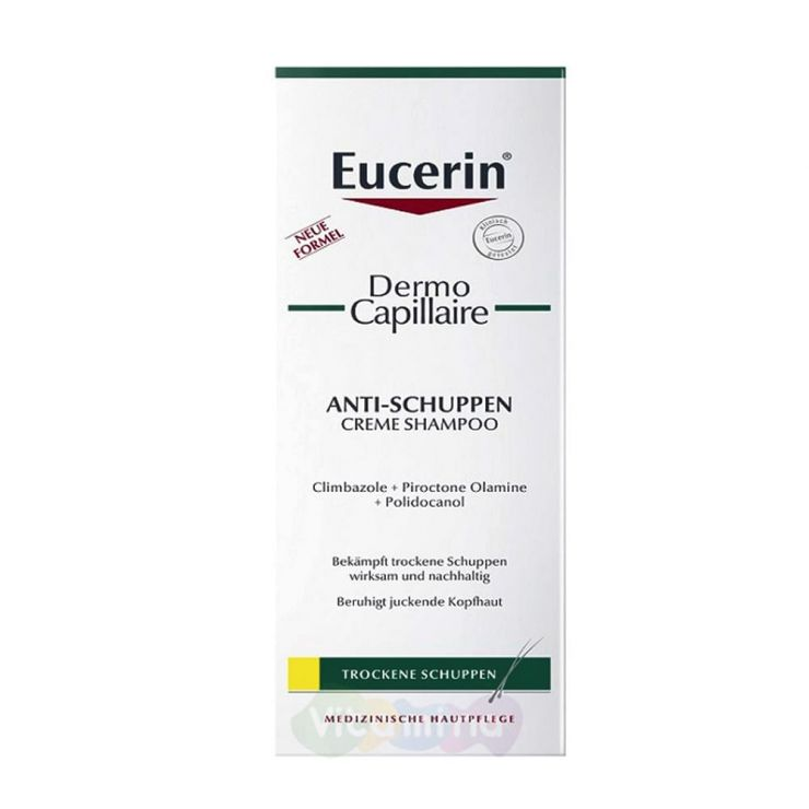 Eucerin Dermo capillaire Шампунь-крем против перхоти, 250 мл