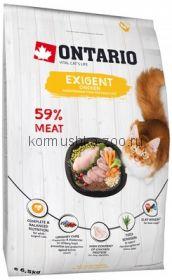 Ontario для особо требовательных кошек с курицей, Ontario Cat Exigent