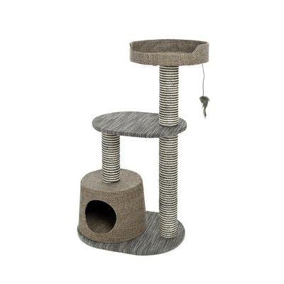 Игровой комплекс-когтеточка Ferribiella Tiragraffi Elegante Каскад для кошек 55х40х90см