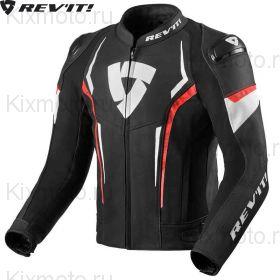 Мотокуртка Revit Glide, Черно-бело-красная