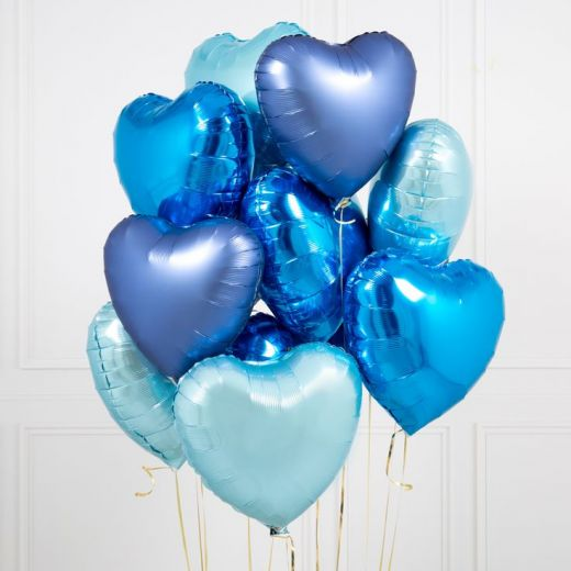 """Набор гелиевых фольгированных шаров """"Холодное сердце"""""""