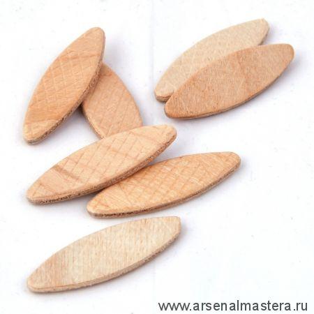 Шпонка (Ламель соединительная) деревянная PINIE 56 x 23 x 4 мм в упаковке 1000 шт 160-201000