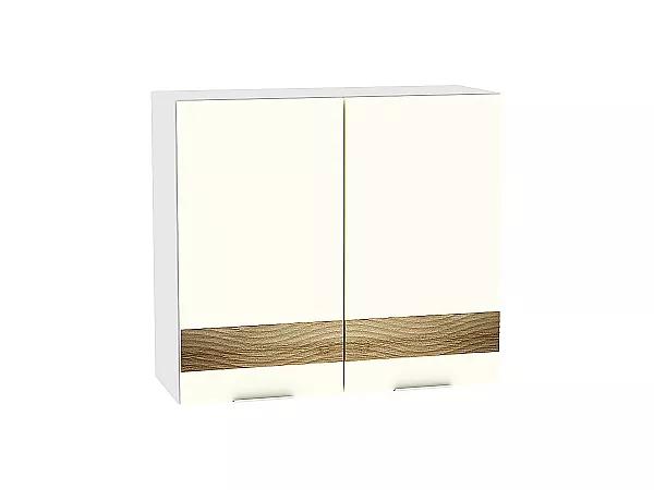 Шкаф верхний Терра В800 D (Ваниль софт)