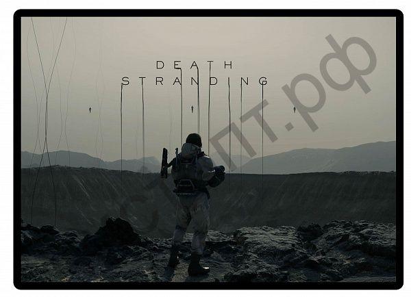 Коврик для мышки OT-PCM12 (Death Stranding,31*24см)