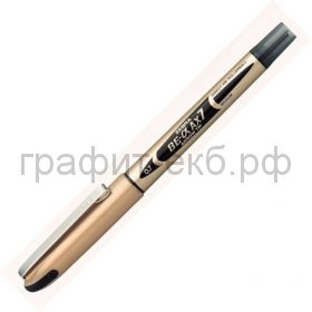 Ручка-роллер Zebra Zeb-Roller AX7 0.7 черная EX-JB7-BK