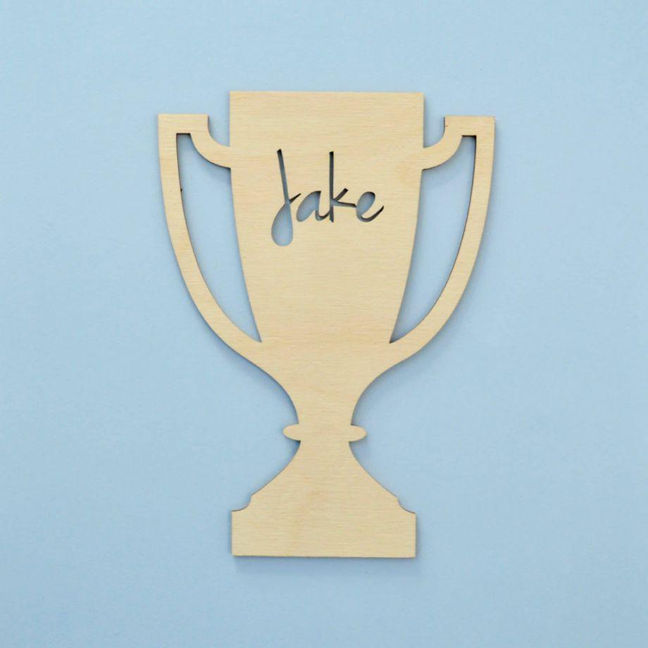 Кубок из дерева без подставки