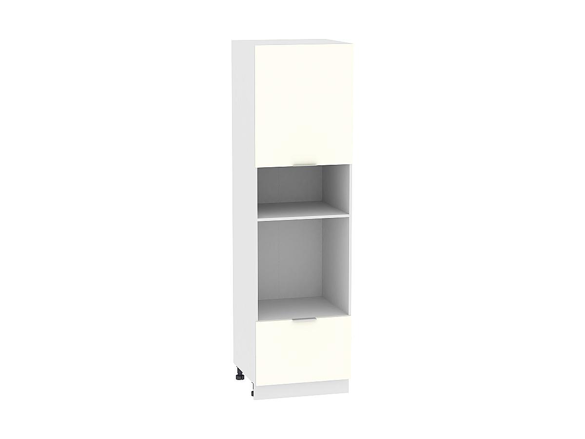 Шкаф-пенал под бытовую технику Терра ШП606 (Ваниль софт)