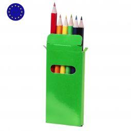 наборы цветных карандашей
