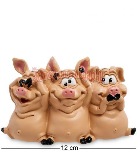 """RV-618 Статуэтка """"Трио мудрых свиней"""""""