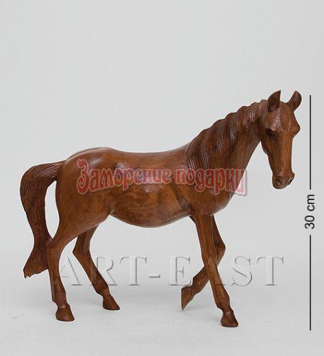 """15-025 Статуэтка """"Дикая лошадь"""" 40 см суар"""