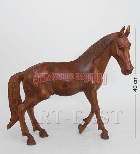 """15-026 Статуэтка """"Дикая лошадь"""" 50 см суар"""