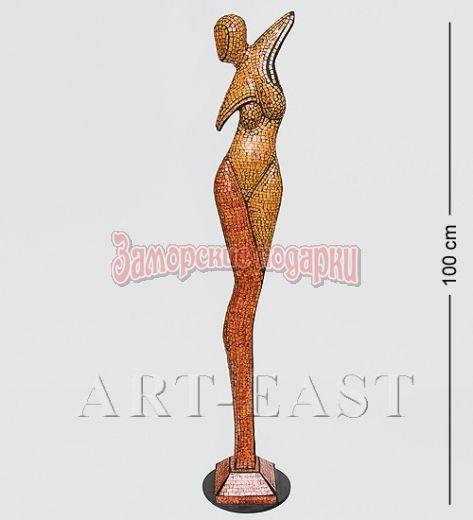 """23-011 Статуэтка """"Девушка"""" дерево+стекл.мозаика 100 см"""