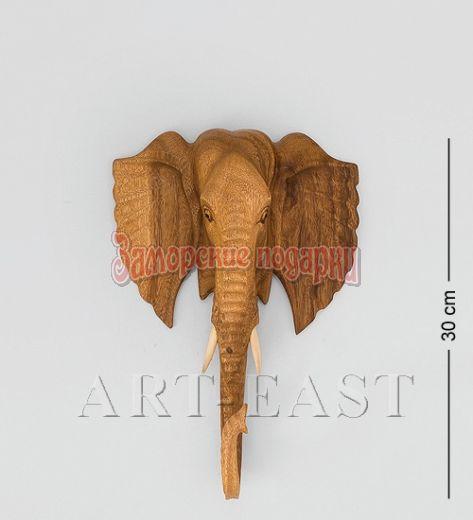"""17-018 Панно """"Голова слона"""" (суар, о.Бали)"""
