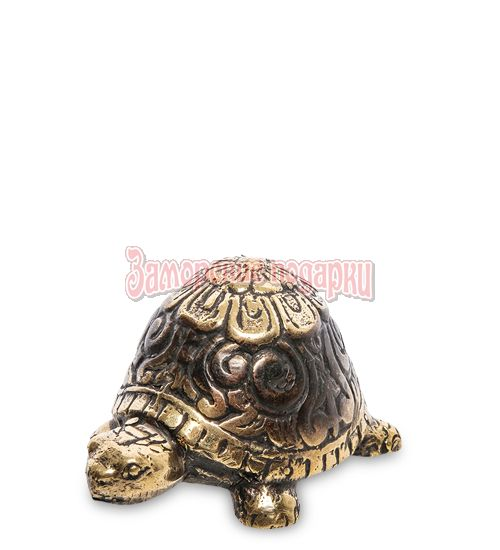 """24-165 Фигурка """"Черепаха"""" бронза (о.Бали)"""